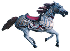 Click to view larger: Wild Carousel Horse - Clay Boone